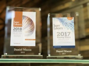 Super Lawyers 2017 and 2018 Awards